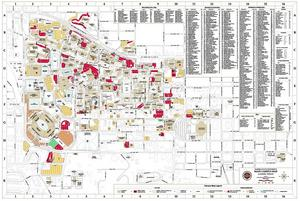 Gallery For Gt Florida State University Campus Map