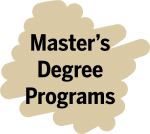 master's degree programs