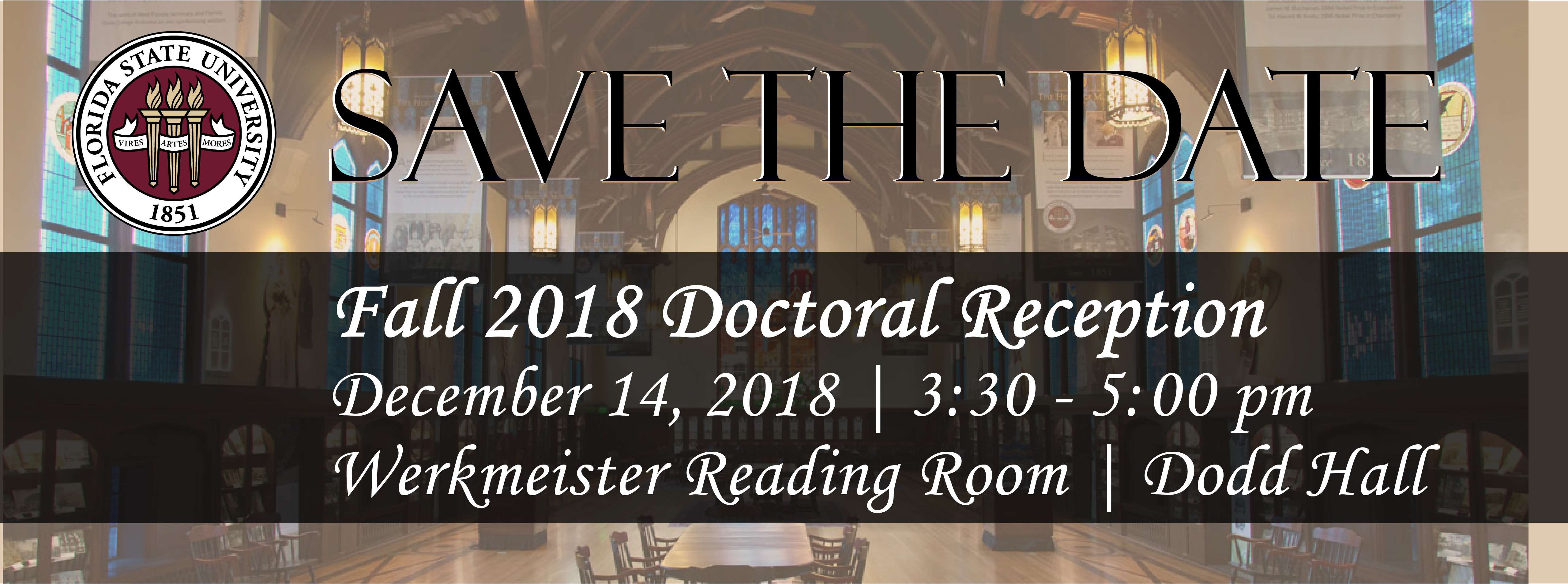 Fall 2018 Doctoral Reception