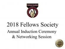 Annual Induction Ceremony &  Networking Session